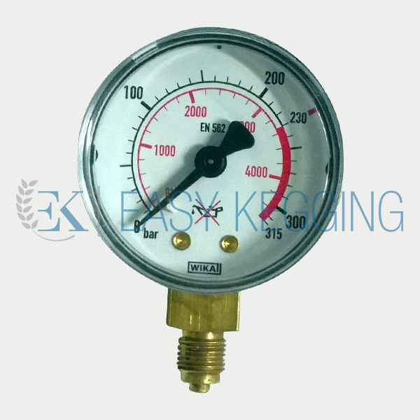 High Pressure Meter : Harris high pressure gauge easy kegging